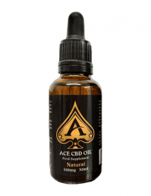 CBD Oil Natural 30ml By Ace CBD CBD Vape