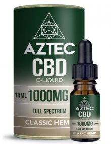 Classic Hemp CBD E-Liquid 10ml By Aztec CBD CBD Vape