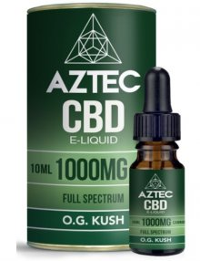 O.G. Kush CBD E-Liquid 10ml By Aztec CBD CBD Vape