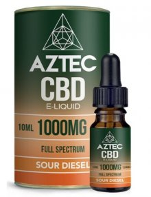 Sour Diesel CBD E-Liquid 10ml By Aztec CBD CBD Vape