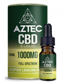 Super Lemon Haze CBD E-Liquid 10ml By Aztec CBD CBD Vape