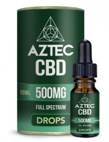 CBD Oil Drops 10ml By Aztec CBD CBD Vape