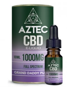 Granddaddy Purple CBD E-Liquid 10ml By Aztec CBD CBD Vape
