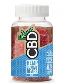 CBD Gummy Bears 300mg By CBDfx CBD Vape