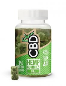CBD Gummy With Turmeric & Spirulina 300mg By CBDfx CBD Vape