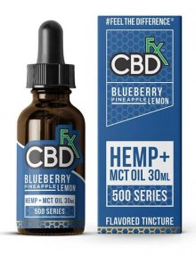 CBD Blueberry Pineapple Lemon MCT Oil Tincture 30ml By CBDfx CBD Vape