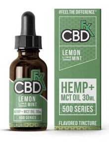 CBD Lemon Lime Mint MCT Oil Tincture 30ml By CBDfx CBD Vape