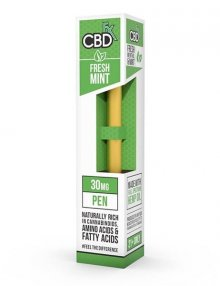 Fresh Mint CBD Vape Pen 30mg By CBDfx CBD Vape