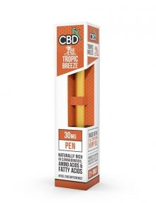 Tropic Breeze CBD Vape Pen 30mg By CBDfx CBD Vape