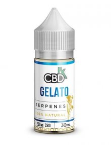 Gelato CBD Terpenes E-Liquid 30ml By CBDfx CBD Vape