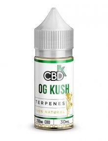 OG Kush CBD Terpenes E-Liquid 30ml By CBDfx CBD Vape