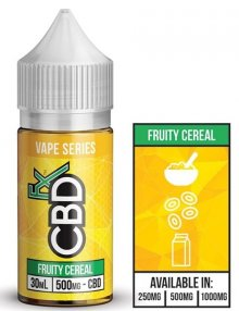 Fruity Cereal Vape Series CBD E Liquid 30ml By CBDfx CBD Vape