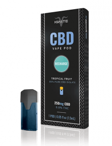Recharge | Tropical Fruit CBD Vape Pod 250mg By Ignite CBD CBD Vape