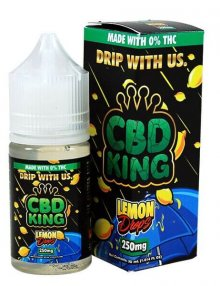 Lemon Drops E Liquid By CBD King 30ml CBD Vape