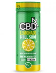 Lemonade CBD Chill Shot 20mg 60ml By CBDfx CBD Vape