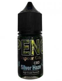 Silver Haze CBD E Liquid 30ml By Peng Vapour Co. CBD Vape