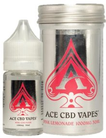 Pink Lemonade CBD E Liquid 30ml By Ace CBD Vapes CBD Vape