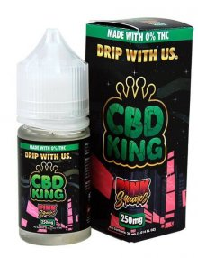 Pink Squares E Liquid By CBD King 30ml CBD Vape