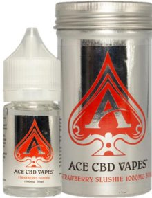 Strawberry Slushie CBD E Liquid 30ml By Ace CBD Vapes CBD Vape