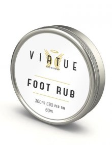 Foot Rub 60ml 300mg By Virtue CBD Vape