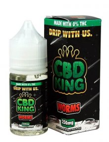 Worms E Liquid By CBD King 30ml CBD Vape