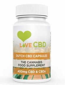Dutch CBD Capsules 400mg 80 Pieces By Love CBD CBD Vape