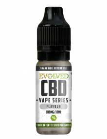 Unflavoured High CBD E Liquid Nic Shot 10ml By Evolved CBD Vape Series CBD Vape